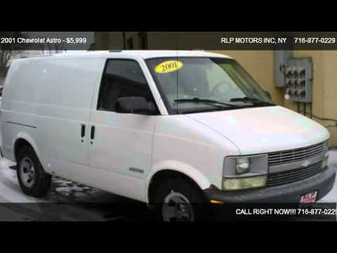 2001 Chevrolet Astro Cargo Van 2WD - for sale in Buffalo ...