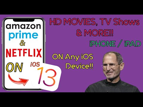 Watch NETFLIX & AMAZON PRIME On IOS Devices!!! (NO JAILBREAK) (iOS 13.4)!! | Quarantine Special!!