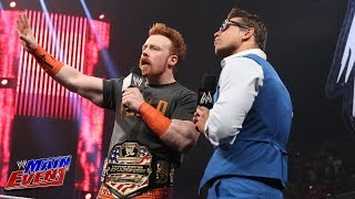 "The season premiere of ""Miz TV"": WWE Main Event, July 15, 2014"
