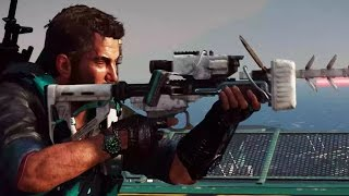 ► Just Cause 3 DLC: Bavarium Sea Heist - The Movie | All Cutscenes (Full Walkthrough HD)