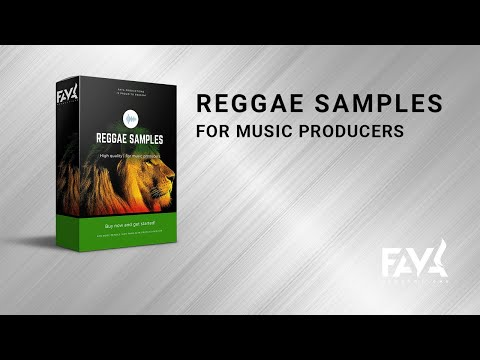 🎵 Reggae Sample Pack - Reggae Drums - Reggae Sounds