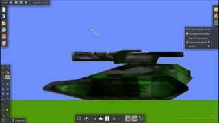 Algodoo.Урок 3.1. Создание танка из игры