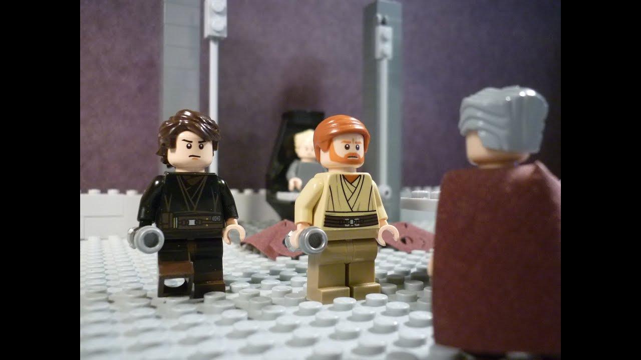 Lego Star Wars - Episode III - Anakin Skywalker & Obi-Wan Kenobi VS ...