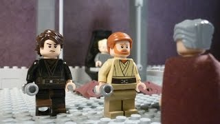 Lego Star Wars - Episode III - Anakin Skywalker & Obi-Wan Kenobi VS Count Dooku Sneak Peak