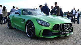 В деревне собрались Mercedes AMG GT R, McLaren P1 GTR, Ferrary FXX и другие красавцы