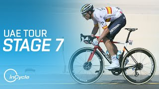 UAE Tour 2021 | Stage 7 Highlights | inCycle