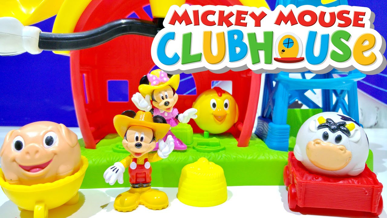 mickey mouse clubhouse with minnie mouse disney playset from fisher price toys for kids worldwide