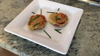 Galette de quinoa au poulet et à l'aubergine -  Recettes faciles et lights: RFL Kathleen Liscia