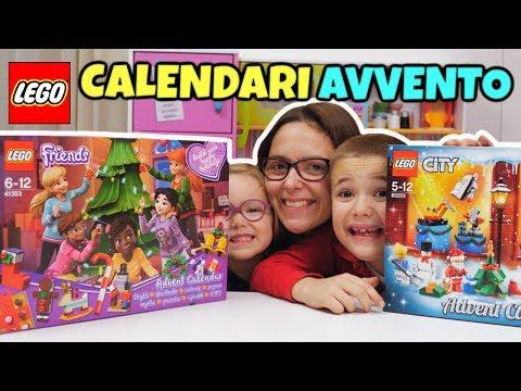 Calendari Avvento LEGO FRIENDS e LEGO CITY Natale 2018