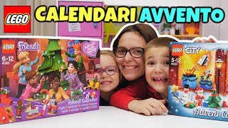 Calendari Avvento LEGO FRIENDS e LEGO CITY Natale 2018