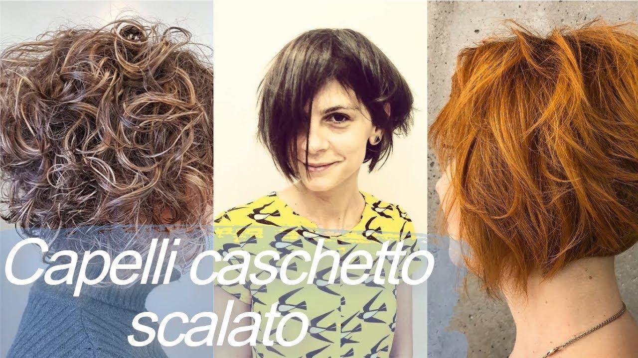Top 20 Idee Per Capelli Caschetto Scalato Youtube