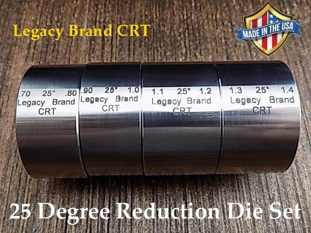 "Folding Die 17 Degree 1.30/""// 1.40/"" Universal Reduction"