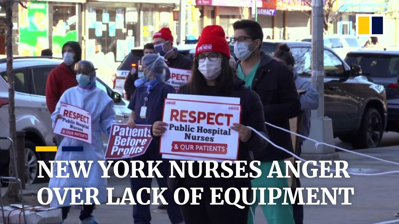 ICU nurse who counter-protested at anti-lockdown rally speaks out