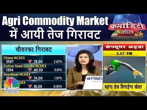 Agri Commodity Market में आयी तेज गिरावट | Commodity Call |
