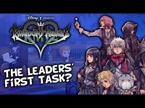 Kingdom Hearts Union X [Cross] Story Update JP Discuss - Alternate Reality? Union Leaders First Task