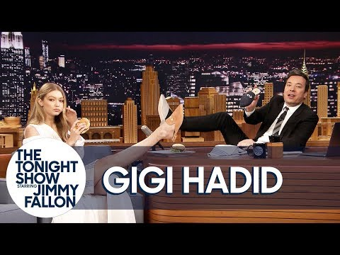 Download Youtube: Gigi Hadid Gives Jimmy the Only Men's Pair of Her EyeLoveMore Mules