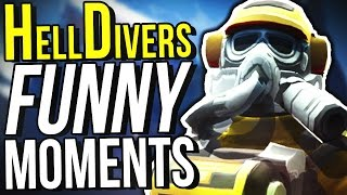 FUNNIEST CO-OP GAME EVER! (Helldivers Funny Moments)