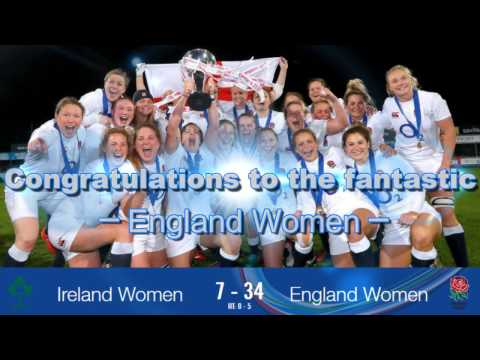 England Women complete their own Six Nations Grand Slam with 34-7 victory over Ireland