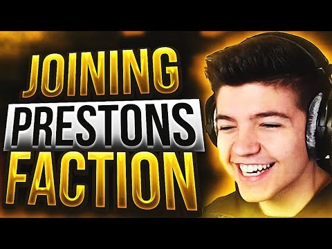 JOINING PRESTONS FACTIONS! | Minecraft Factions | Cosmic Pvp | #6