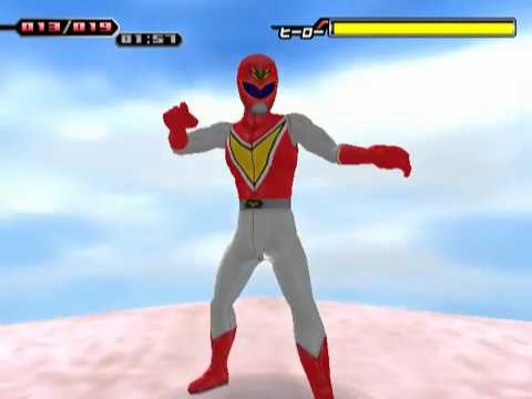 Simple 2000 Series Vol. 60: The Tokusatsu Henshin Hero (PS2 Gameplay)