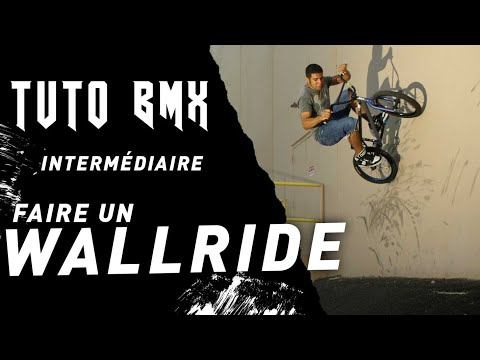 COMMENT FAIRE UN WALLRIDE EN BMX ? - TUTO EXPRESS DEBUTANT - HOW TO WALLRIDE ON BMX ?