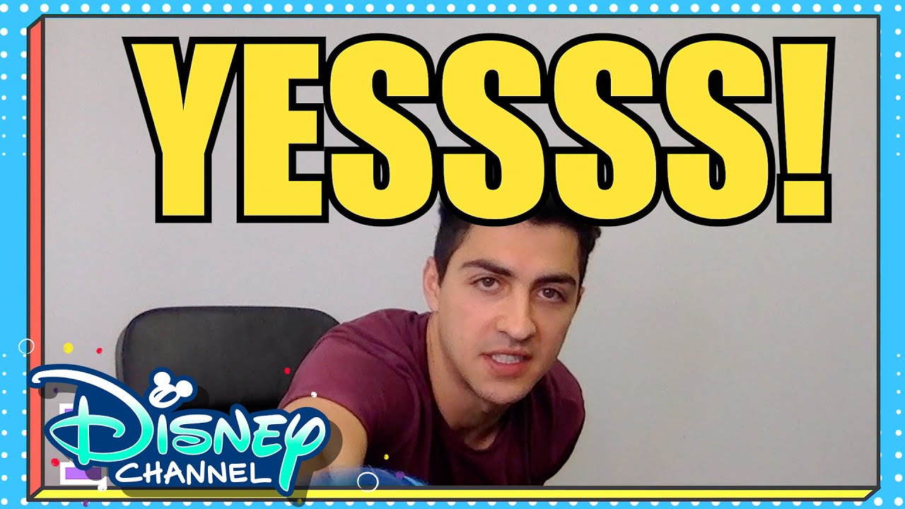 Challenges & Games 🎉   Compilation   Virtual Chats with Ariel & Trevor   Disney Channel