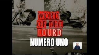 #WordOfTheLourd | Numero Uno