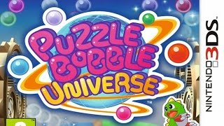 Puzzle Bobble Universe 3D \ Bust-a-Move Universe Gameplay (Nintendo 3DS) [60 FPS] [1080p]