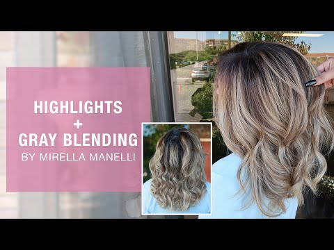 Highlights + Gray Blending With Mirella Manelli | Kenra Color | Kenra Professional