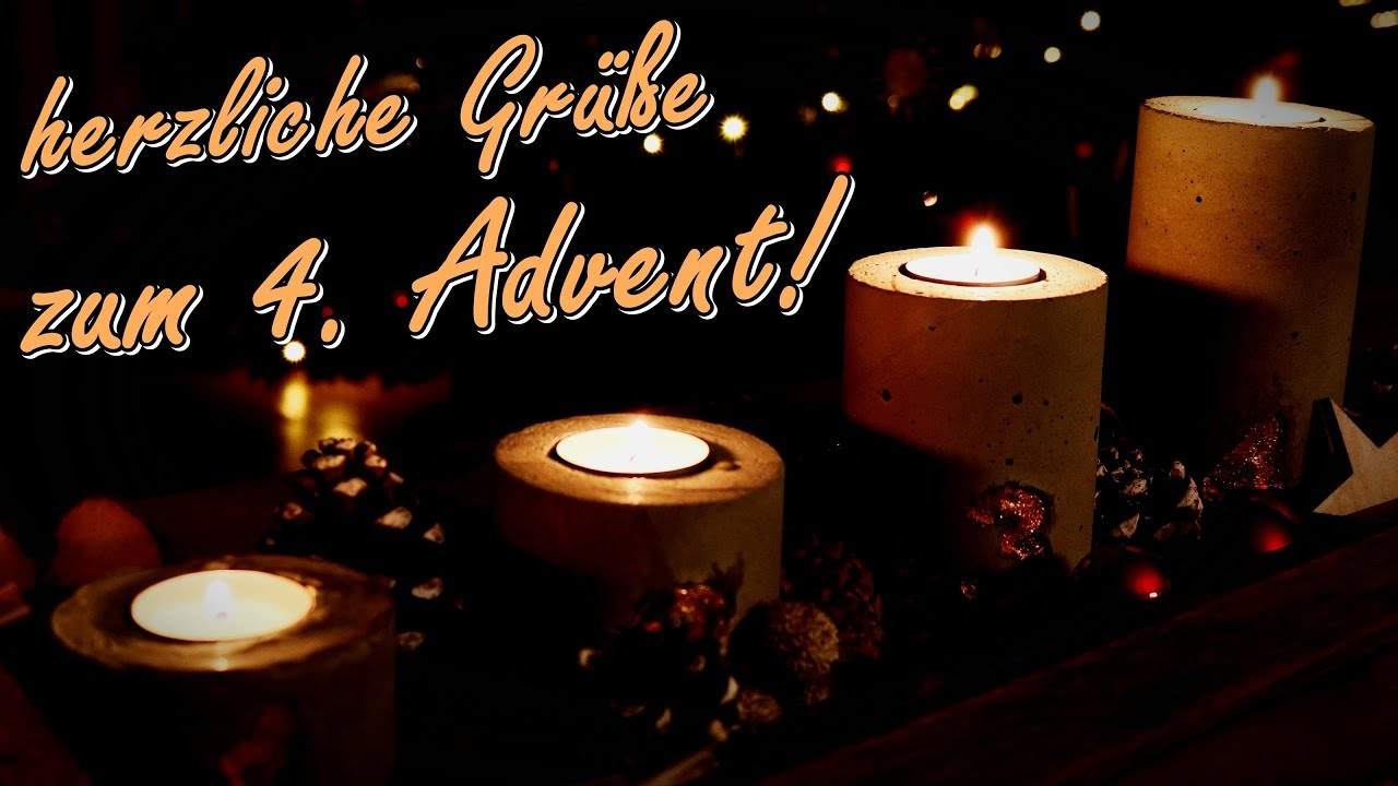 4 advent 2018 adventsgr e und w nsche video f r whatsapp