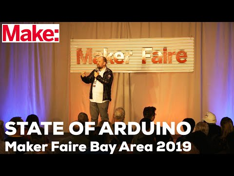 State of Arduino: Massimo Banzi at Maker Faire Bay Area 2019