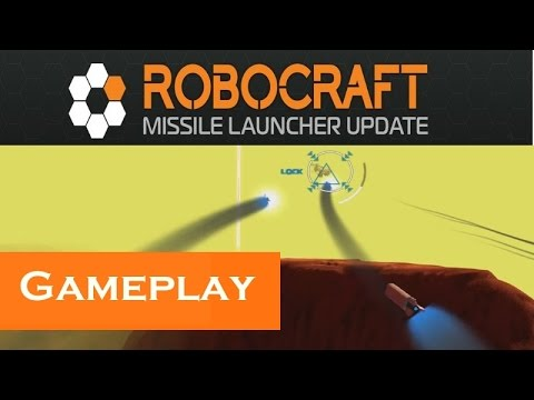 Robocraft | Gameplay | Missile Launcher Update - YT