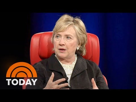 Hillary Clinton Blames Russians, James Comey, Fake News For Her Defeat In 2016 | TODAY