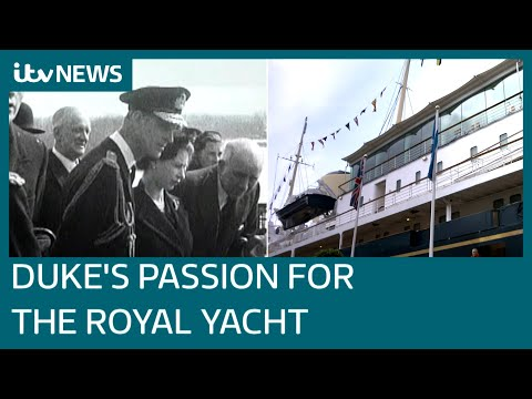 Royal Yacht Britannia was monument for many of Prince Philip