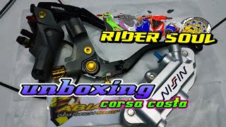 unboxing master rem brembo corsa costa