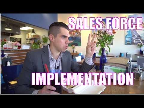 SALES FORCE IMPLEMENTATION - REAL ESTATE VLOG 54