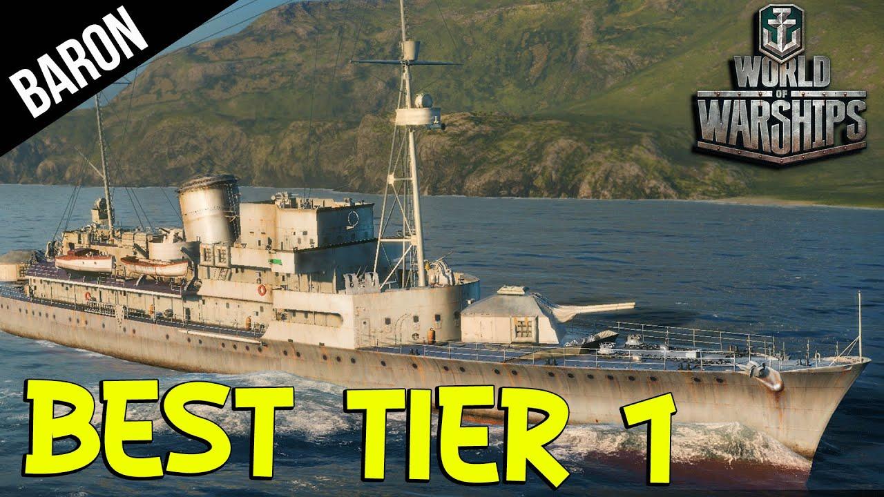 World of Warships Best NEW Tier 1 - Russian & German Tier 1 Ships
