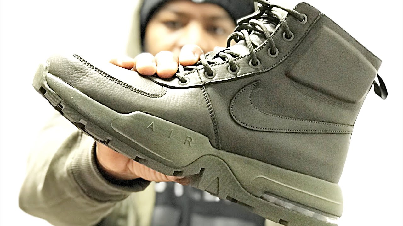 a21042f892f3 Nike AirMax goaterra 2.0 sneakerboot review and on feet view - YouTube