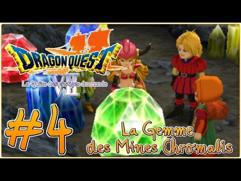 Make [Let's Play] Dragon Quest 7 : La Quête des Vestiges du Monde FR #4 - La Gemme des Mines Chromalis ! Images