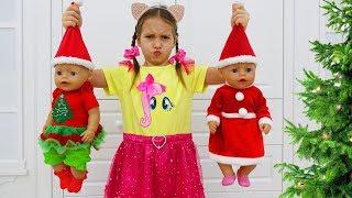 София и Живые Куклы Волшебная история про ПОДАРКИ, Sofia pretend play with Dolls and Toys for Girls