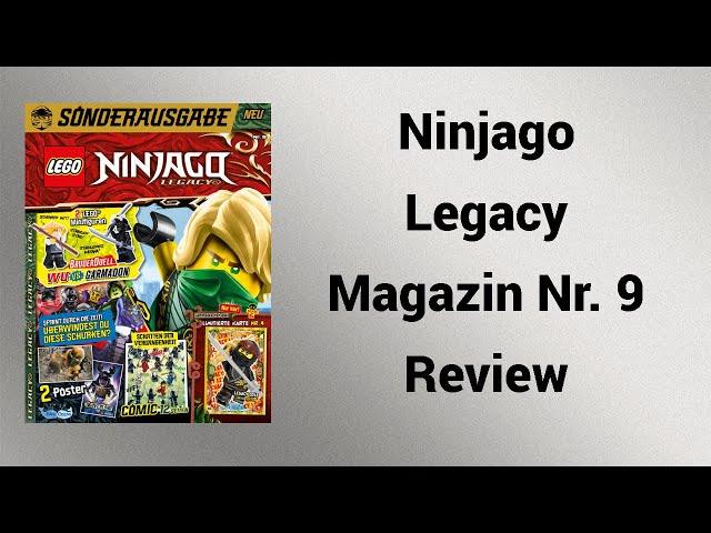 Bruder Duell! | Ninjago Legacy Sonderausgabe Nr. 9 Review | Steinfreund2014