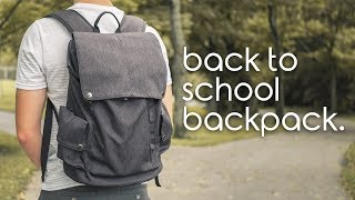 Best Laptop Backpack for Back to School Tech 2019 - Mancro Laptop Backpack Killer!