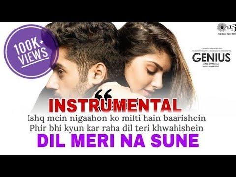 Dil Meri Na Sune - INSTRUMENTAL Version || Atif Aslam || Piano Cover || Karaoke Link