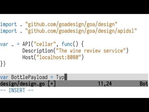 goa: A New Approach to Microservice Development in Go