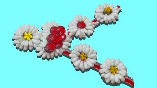 How to make Cotton Swab Garland || Cotton bud Garland Tutorial step by step