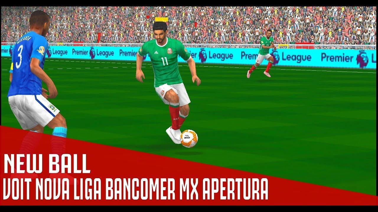 4f3202c5f New Ball • VOIT Nova Liga BANCOMER MX Apertura • 2018   PES PSP (PPSSPP)