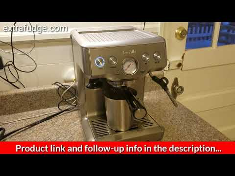 How to do a cleaning cycle on the Breville Espresso machine