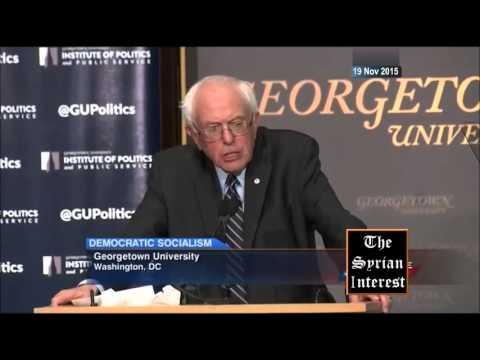 Bernie Slams Arab Gulf States on Terrorism and Refugees  19 Nov 2015