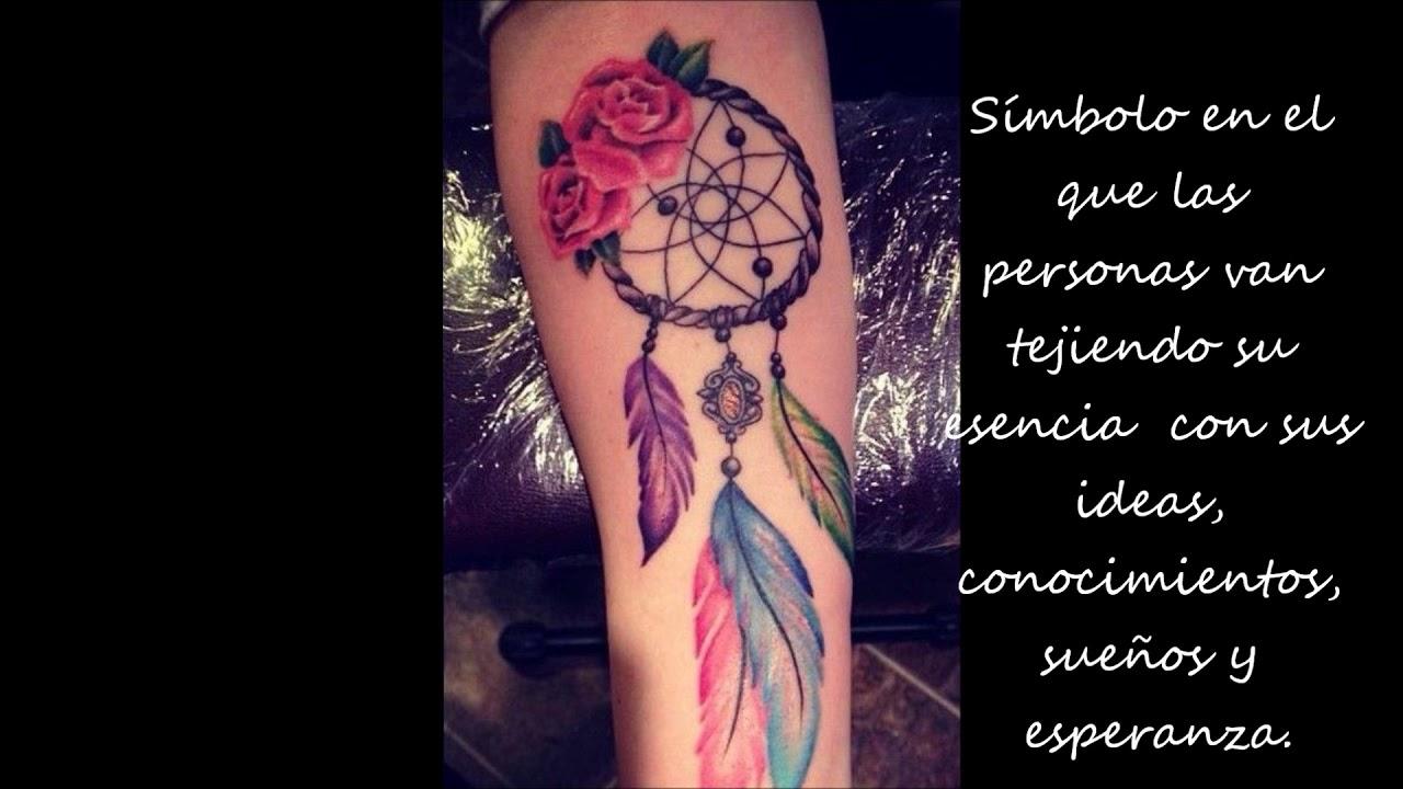 El Significado De Los Tatuajes De Atrapasueños Youtube