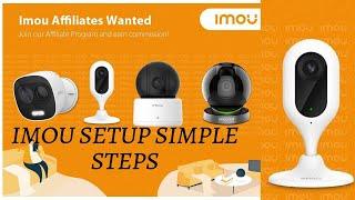 Imou App Configure In WiFi | I…